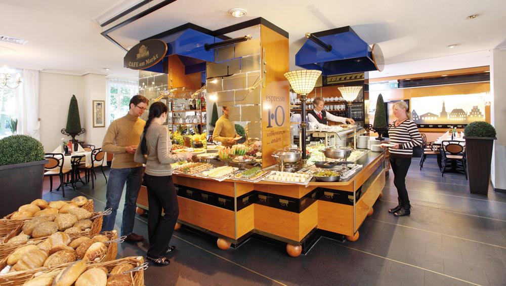 Cafe am markt osnabrück frühstückszeiten